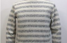 """ORIGINAL BORDER BOATNECK SHIRT"""